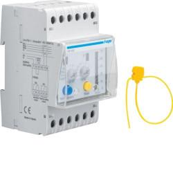 Intrerupator automat Hager HR510 - REL.DIF. 0,03-10A, 0-3S, 3M