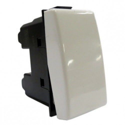 Intrerupator Bticino AM5005/1 Matix - Buton NI 10A - 250V , 1 modul, alb
