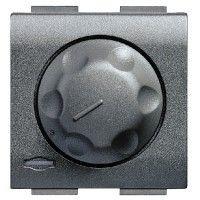 Intrerupator Bticino L4583 Living Light - Variator rotativ, 500W-1000W, 2M, 250V, negru