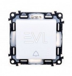 intrerupator Lgerand 752175 Valena Life - Buton inversor cu pictograma, IP44, borne automate, 6A, alb