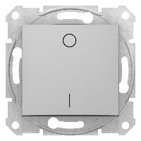 Intrerupator Schnedier SDN0200160 Sedna - INTRERUPATOR BIPOLAR, 10 AX - 250 V ALUMINIU