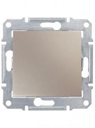 Intrerupator Schneider SDN0100168 Sedna - Intrerupator simplu,10 AX - 250 V Titan