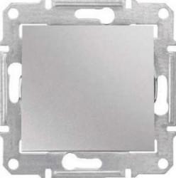 Intrerupator Schneider SDN0400560 Sedna - INTRERUPATOR CAP SCARA IP44, 10 AX - 250 V ALUMINIU