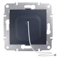 Intrerupator Schneider SDN1200170 Sedna - Intrerupator cu revenire, cu cordon, 10 AX - 250 V, grafit