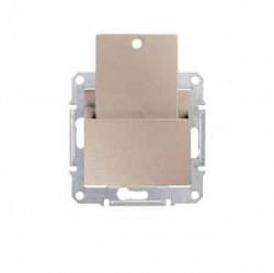 Intrerupator Schneider SDN1900168 Sedna - Intrerupator cu card, 10 AX - 250 V titan