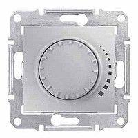Intrerupator Schneider SDN2200760 Sedna - Intrerupator cu variator rotativ cu pornire prin apasare, cap scara, RC, 230 V, 25W-325W, aluminiu