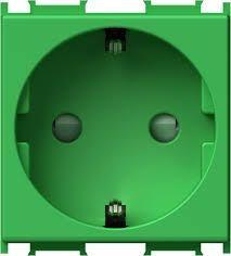 Priza Tem VM10GR-B Modul - Priza CP 2m circ sp verde