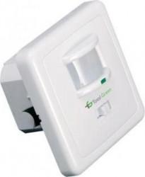 Senzor Miscare 180 TOTAL GREEN JQ-20, IP20, culoare: ALB
