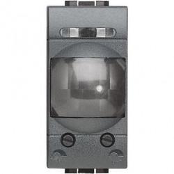 Senzor miscare Bticino L4431 Living Light - Senzor de miscare, 2A, 1M, negru