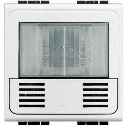 Senzor miscare Bticino N4658N Living Light - Senzor de miscare cu infrarosu, 2M, alb