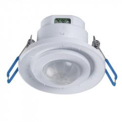 Senzor miscare Kanlux MERGE ADJ-O 23451 - Senzor PIR incastrat, 360grade, Ip20 alb