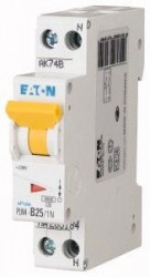 Siguranta automata Eaton 263302 - DISJUNCTOR PLN4-C25/1N. 1P+N, 25A, 4,5kA, C