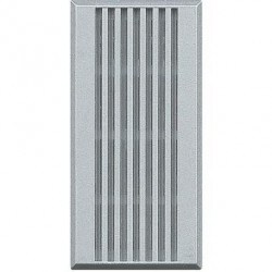 Sonerie Bticino HC4356/230 Axolute - Buzzer 230V c.a. - 80dB, 1M, argintiu