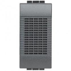Sonerie Bticino L4351/127 Living Light - Sonerie de bronz 127V c.a.- 80 dB, 1M, negru