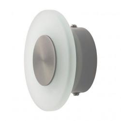 Spot Kanlux 18571 ARLA LED - Corp iluminat incastrat pentru trepte, 1W, 6200k-6800k, IP44, argintiu