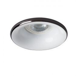 Spot Kanlux 27802 Elnis - Spot incastrat LED GU10, max 35W, anthracite/alb