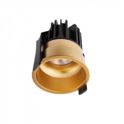 Spot LED Arelux XClub CU02WW50 GD - Corp LED 1x11W 3000K 500mA 50grd. IP20 GD (5f), auriu