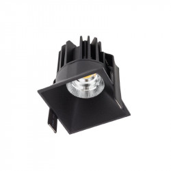 Spot Led Arelux XDomino DM01WW50 BK - Corp iluminat cu led 15W 700mA 50grd. 3000K IP20 BK (5f), negru