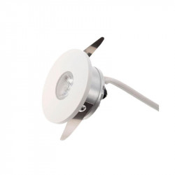 Spot LED Arelux XTwist TW01WW40 MWH - Corp iluminat cu led 1x3W 3000K 700mA 40grd. IP40 MWH (5f), alb