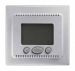 Termostat Schneider SDN6000260 Sedna - Cronotermostat cu functie confort 16 A - 230 V, aluminiu