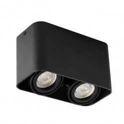 Aplica Kanlux 26119 TOLEO DTL - Plafoniera 2xmax 25W, Gu10, IP20, negru