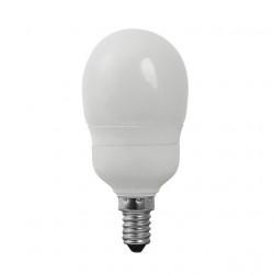 Bec Kanlux 12695 MINIGLOB XEU48 - Bec CFL, 9W, E14, 3500k, 405lm