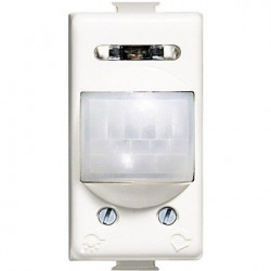 Bticino AM5751 Matix Senzor Miscare - Intreruptor cu senzor IR, 2A, rez./ind., cu temporizare 3s - 10 min., 1 modul