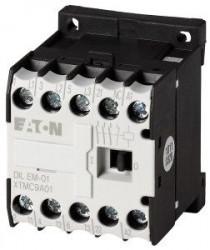 Contactor Eaton 051649 - Contactor putere DILEEM-01-G(12VDC)-Contactor 3KW AC-3 1NI