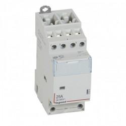 Contactor modular Legrand 412510 - CX3 24 V~ coll - 4P 400 V~ - 25 A - 4 N/O