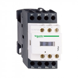 Contactor Schnedier LC1D098P7 - Contactor putere TeSys LC1-D - 4 poli (2NO + 2NC) - AC-1 440 V 20 A - bobina 230 V c.a.