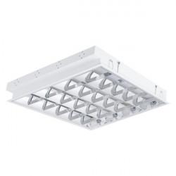 Corp de iluminat Kanlux REGIS 22673 - Corp incastrat T8, G13, 4LED, 4x18W, 595x595, alb