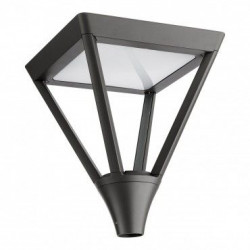 Corp iluminat Arelux XTown TT01CW DG - Corp iluminat rezidential 45W 6500K IP65 (5f), negru
