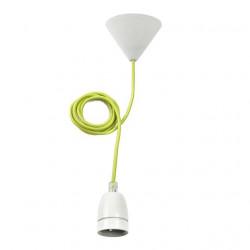 Corp iluminat Kanlux 25522 TOKIA - Lustra, E27, max 60W, IP20, alb/verde