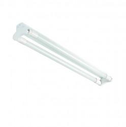 Corp iluminat Kanlux 26364 ALDO - Corp liniar tub led, IP20, max 2x36W, T8 led, G13, 1235mm, alb