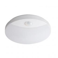 Corp iluminat Kanlux 26520 SANSO - Plafoniera led cu senzor miscare, 15W, SMD, IP44, 4000k, alb