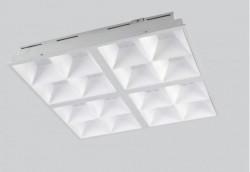 Corp Iluminat LED Opple 140043971 - Corp LED incastrat Grille 3450lm, 36W, 90gr, 3000K, 50Khrs