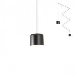 Corp iluminat Redo 01-1822 Dodo - Lustra, E27, mx 1x42W, IP20, negru