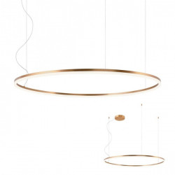 Corp iluminat Redo 01-1919 Orbit - Lustra led, 84W, 4000k, 7145lm, bronz