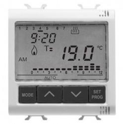 Cronotermostat Gewiss GW10703 Chorus - 2M 230VAC White