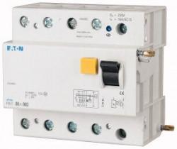 Intrerupator automat Eaton 248834 - PBHT-80/4/1-Intr dif atas. la PLHT 80A,4P,1A