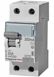 Intrerupator automat Legrand 403038 - TX3 ID 2P 25A AC 300MA MONO