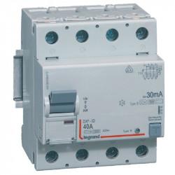 Intrerupator automat Legrand 411846 - DX3-ID 4P 40A B 30MA