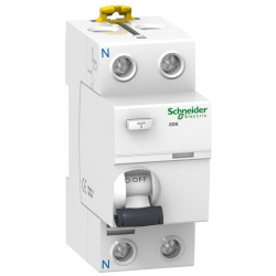 Intrerupator automat Schneider A9R11280 - IID 2P 80A 30MA AC