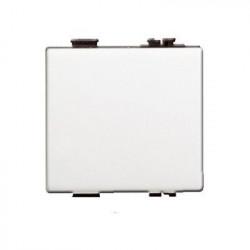 Intrerupator Bticino AM5005/2 Matix - Buton ND 10A - 250V, 2 module, alb