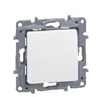 Intrerupator Legrand 764500 Niloe - Intrerupator simplu, 10AX, alb