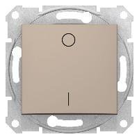 Intrerupator Schnedier SDN0200268 Sedna - Intrerupator bipolar 16 AX - 250 V, titan