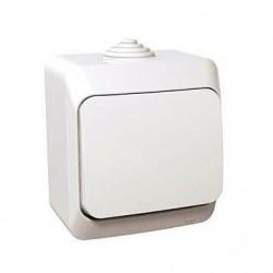 Intrerupator Schneider Cedar WDE000560 - Intrerupator cap scara IP44, alb