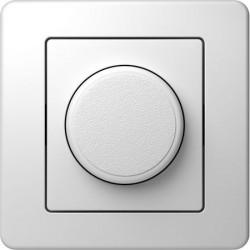 Intrerupator Tem EE15PW-B Ekonomik - Variator rotativ alb