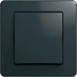 Intrerupator Tem SE10NB-B Ekonomik - Intrerupator simplu negru