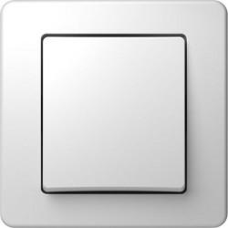 Intrerupator Tem SE10PW-B Ekonomik - Intrerupator simplu alb